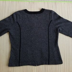Banana Republic Sweaters - Zip front sweater, XL. 3/4 length sleeves.